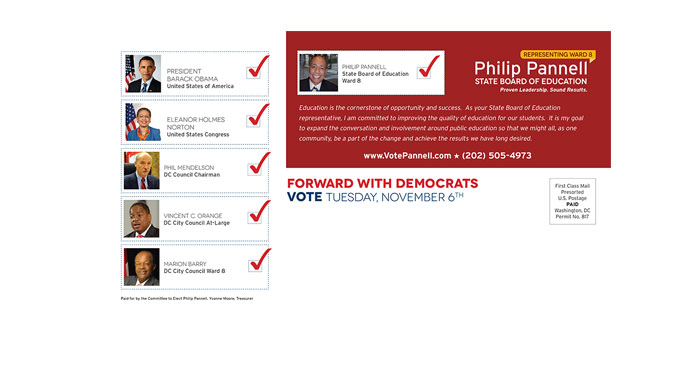 Philip Pannell – Campaign Postcard