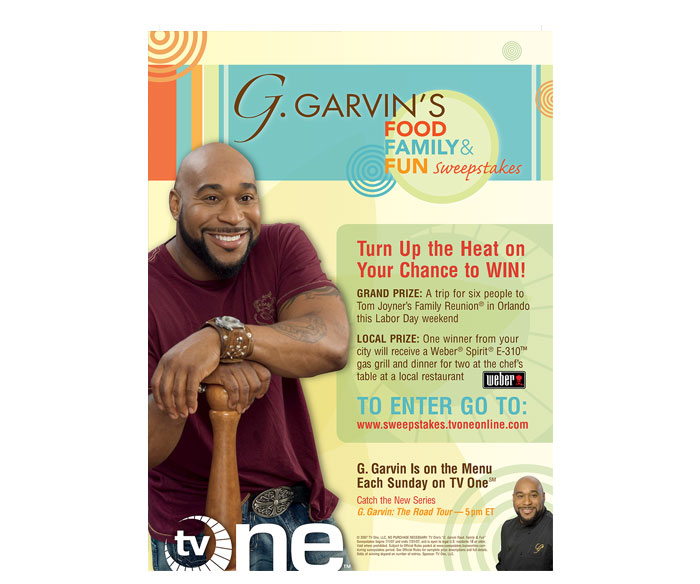 TV ONE – Turn Up the Heat with G. Garvin