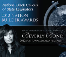 NBCSL Nation Builder – 2012 Nation Recipient — Beverly Bond