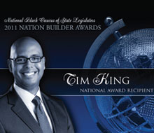 NBCSL Nation Builder – 2011 Nation Recipient — Tim King, Educator