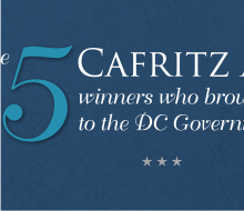 Cafritz Awards – Ceremony Collaterals